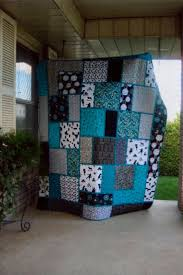 Best 25+ Teal quilt ideas on Pinterest | Quilt patterns, Baby ... & black white and teal quilt, pattern called Big Block Quilt from Black Cat  Creations Modified Adamdwight.com