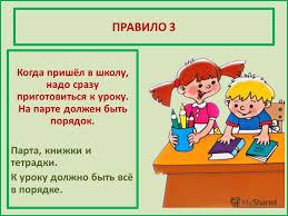 Презентация на тему ПРАВИЛА ПОВЕДЕНИЯ В ШКОЛЕ КЛАСС Автор  6 ПРАВИЛО