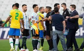 توقف مفاجئ لمباراة البرازيل والأرجنتين في تصفيات مونديال قطر