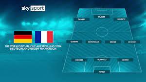 Das ist die aufstellung zur begegnung deutschland gegen frankreich am 06.09.2018 im wettbewerb uefa nations league a. Dmbequsql0ut1m