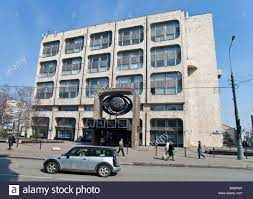 Itar - Tass , Russian news agency building in Moscow, Russia Stock Photo -  Alamy