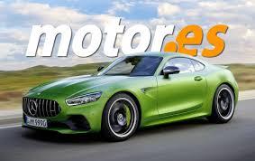 Cuanto más deportivo el modo, más ágil es la respuesta. Adelantamos El Diseno Del Mercedes Amg Gt Coupe 2022 Y Sus Importantes Novedades Motor Es