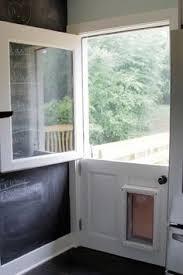 exterior back door with dog door. doors on pinterest | dutch door, back and hollow core exterior door with dog