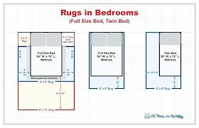 image of bedroom rug size living standard area sizes room carpet fit guide dimensions