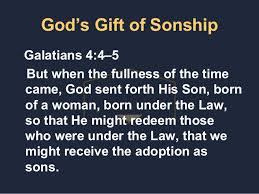 Image result for Galatians 4:5