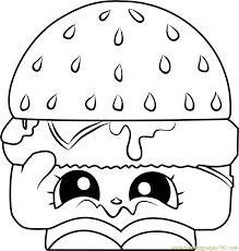 Free Shopkins Coloring Pages At Getdrawingscom Free For Personal