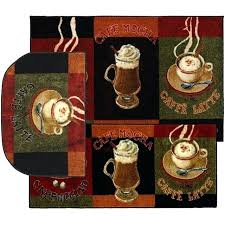 coffee kitchen rugs throw rugs 3 piece set coffee kitchen small area floor mat carpet ter coffee kitchen rugs