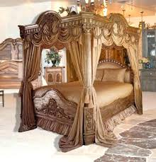 King Size Canopy Bed With Curtains Full Size Of Canopy For Queen Bed ...