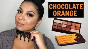 i heart makeup makeup revolution chocolate orange palette review missbeautyadikt