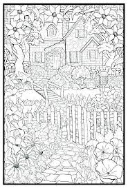 Challenging Coloring Pages For Adults As Posters Cottage Lots More