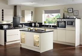Cream Gloss Kitchen Clerkenwell Gloss Cream Contemporary Kitchen From Howdens