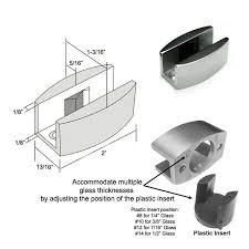 adjustable stainless steel sliding
