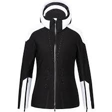 Kjus Freelite Ski Jacket Black White Women