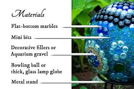 Decorating Bowling Balls Marbles Fascinating DIY Decorative Garden Art Ball Tutorial Empress Of Dirt