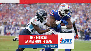 Top 3 Things We Learned From Bills At Titans Week 5