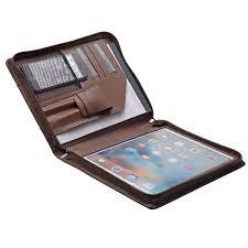 Designer Padfolio Amazon Com Ipad Pro Leather Portfolio Case With Pen Case