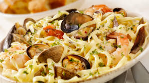 Pasta With Mixed Seafood (Pasta alla ...