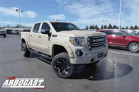 New 2019 GMC Sierra 1500 SLT Black Widow Lifted Truck Armed Forces ...