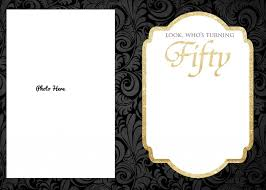 50th Birthdaynvitation Templates Word Free Printable