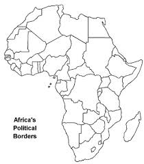 Empty Map Of Africa World Map Hd For Empty Map Of Africa X
