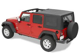 keystone restyling 2 piece hardtop in black for 07 17 jeep wrangler unlimited jk 4 door quadratec