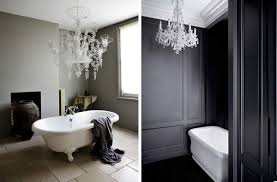 appealing chandeliers for bathrooms of 20 gorgeous bathroom crystal home design lover