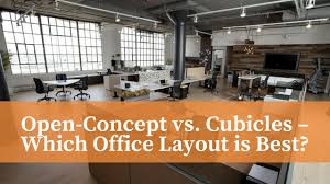 OpenConcept Vs Cubicles Which Office Layout Is Best Fuhrmann Simple Office Cubicle Layout Design