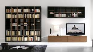 spectacular putting up gorgeous wallmounted bookcases living