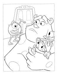 Uniek Kleurplaten Van Monsters En Co Klupaatswebsite