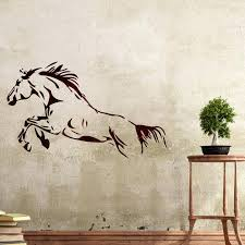 wall stencils horse stencil large template for room decor large wall stencils