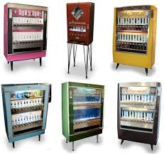 Old Cigarette Vending Machine For Sale