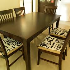 dining table chair pads fortable chair cushion seat within dining chair cushions