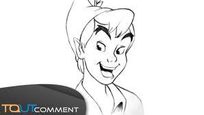 Comment Dessiner Peter Pan Comment Dessiner Un Personnage De