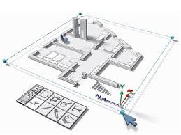 home floor plans. House Floor Plan, Digital Rendering. Home Plans