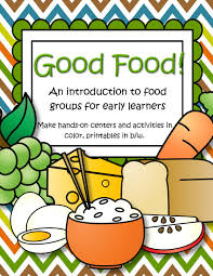 Small Picture Food theme activities and printables for preschool and