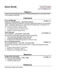 Resume Models In Word Format 16 Job Resume Template Style 1