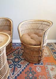 vintage wicker patio furniture. Vintage Wicker Patio Furniture By CaprockVintage