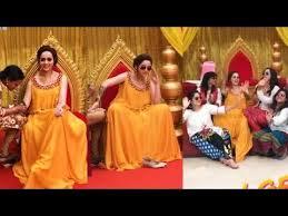 actress bhavana wedding makeup and mehandi fuction video