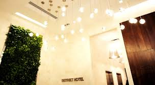 interior lighting for designers. boutique hotel interior lighting design of distrikt in manhattan nyc for designers t