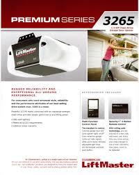 LiftMaster Garage Door Opener Series 3265 - Garage Door Repair ...