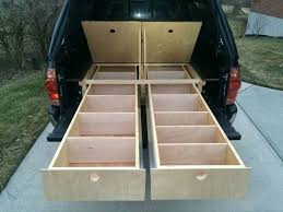 wood truck bed storage drawers diy truck bed storage drawers truck bed storage drawers for toyota tacoma used truck bed storage drawers