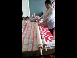 Easy quilt basting using the noodle method - YouTube | quilts ... & Easy quilt basting using the noodle method - YouTube Adamdwight.com