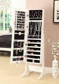 jewelry cabinet mirror jewelry armoire