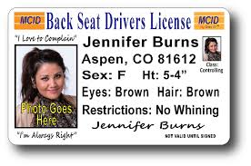 Back Back License Seat Seat Drivers