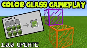 stained glass addon minecraft pe