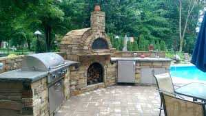 outdoor kitchen fireplace outdoor kitchen and fireplace traditional