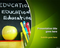 Templates For Education Free Education School Powerpoint Template