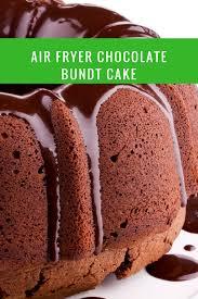 Air Fryer Homemade Chocolate Cake