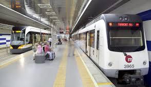 Resultado de imagen de Metro valencia
