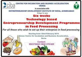 importance of entrepreneurship development programme edp